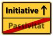 initiative passivität
