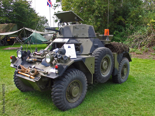Vintage British WW2 APC armored personnel carrier
