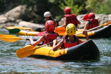 Plaisir en kayak