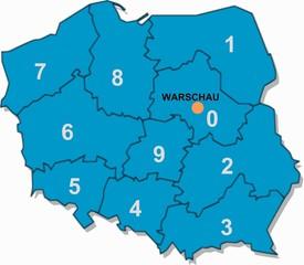 Postleitzahlen Polen
