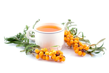 tea with sea-buckthorn