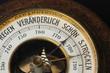 Leinwanddruck Bild - Barometer