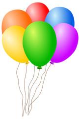 baloons - vector
