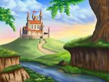 Fototapety Fantasy castle
