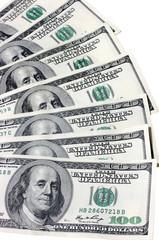 Dollars. Isolated.