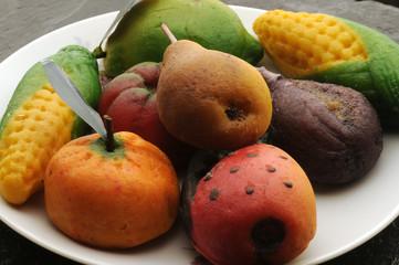 Frutta di Marzapane - Dolci della Sicilia