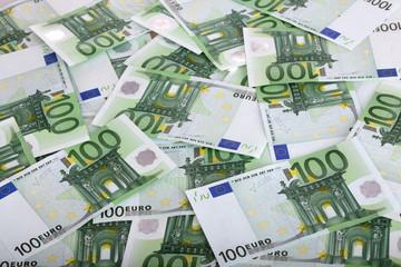 Background of one hundred euro.