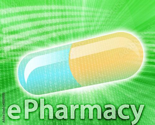 canvas print picture Online Medicine