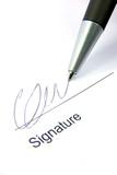 Signature and pen 2