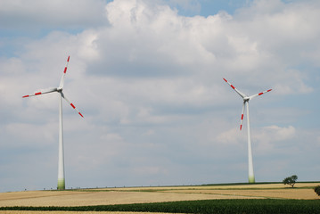 Windräder Windrad Ökostrom Energie Strom