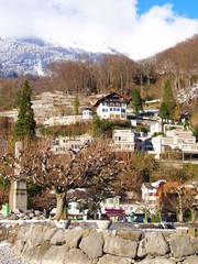 petit bourg alpin