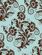 roleta: Seamless floral pattern