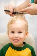 hair cut boy