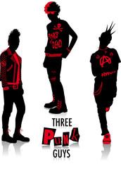 Punk silhouettes