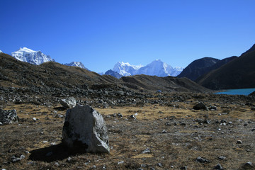 The Sacred lakes in Gokyo