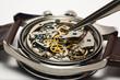 Leinwandbild Motiv Modern Watch Repair