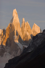 Sunrise at Cerro-Torre