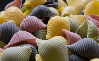 caracolas de pasta