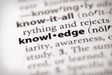 Dictionary Series - Science: knowledge poster
