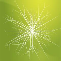 Snowflake pattern design