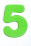 Foam Digit Five poster