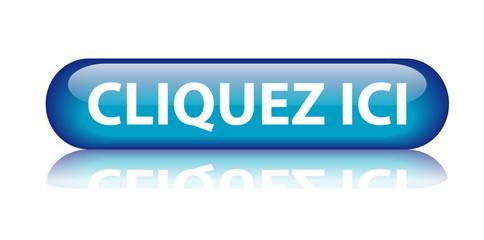 """Bouton """"Cliquez Ici"""" (bleu)"""