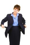 Businesswoman Flat Broke poster