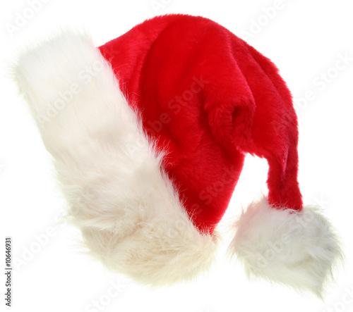 Leinwandbild Motiv Santa Hat