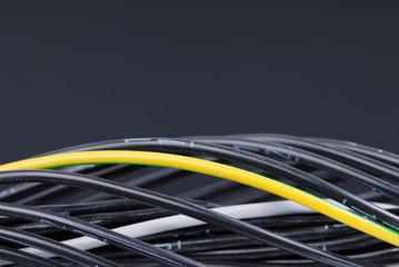Nummerierte Kabel