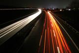Fototapeta prędkość - światło - Ruch