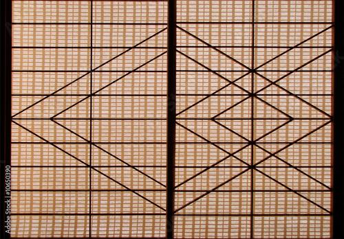 shoji panneau coulissant japonais photo libre de droits sur la banque d 39 images. Black Bedroom Furniture Sets. Home Design Ideas