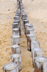 Protection de la plage