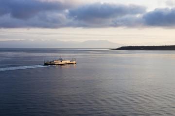 Ferry Across Calm Bay