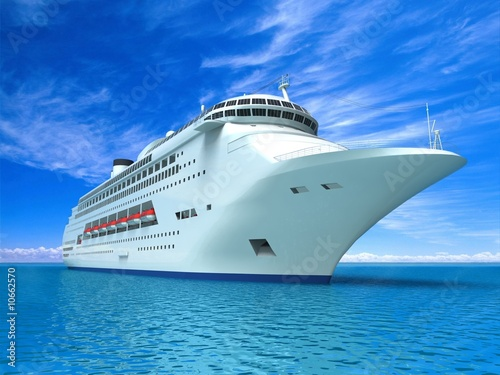 Leinwandbild Motiv Luxury Yacht