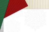 Holiday Corrugated Cardboard poster