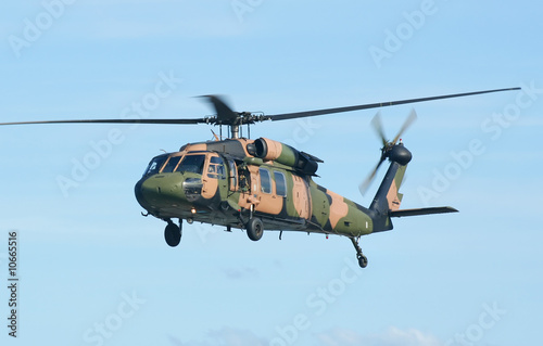 Foto op Canvas Helicopter Army Blackhawk Chopper