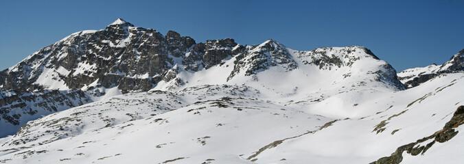 Panorama sur le Mont Bégo