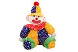 Rag doll clown poster