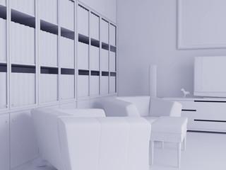 High resolution image interior