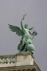 Engelsfigur an der Wiener Hofburg