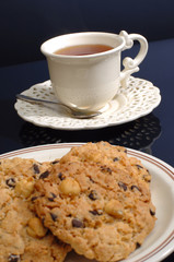 cookie with tea