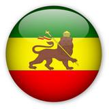 Rastafarian Flag Button