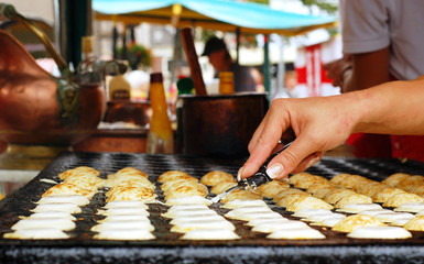 Poffertjes, Holland