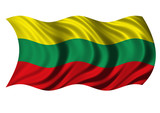 Flag of The Republic of Lithuania