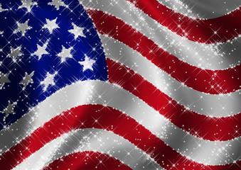 USA Flag star spangled
