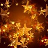 Fototapety golden stars