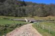 Ferme auberge du Strohberg dans les Vosges (Alsace, Haut-Rhin)