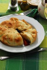 Focaccia di Lissa  - Antipasti - Cucina della Dalmazia