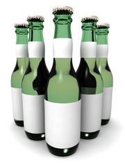 Five botles of beer