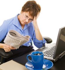 Discouraging Financial News